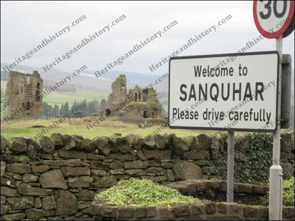 A walk around Sanquhar – Dumfrieshire