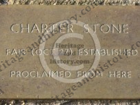 Charter Stone - Kirkby Stephen. Cumbria