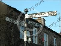 Kirkby Stephen Furlong sign