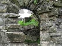 One of the small archways