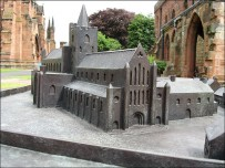 Carlisle Cathedral 1:16th scale model