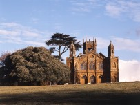 Gothic Temple Stowe - built in 1741. © Landmark Trust