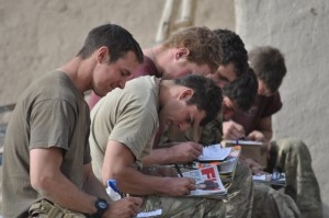 In Our Own Words: Soldiers' thoughts from Afghanistan Pic - iwm / Derek Eland